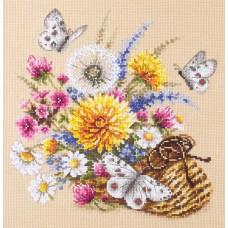Набор для вышивки крестом Чудесная игла 40-81 Луговые цветы