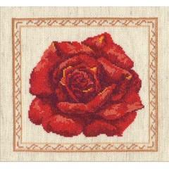 """Набор для вышивки Чудесная игла 40-16 """"Красная роза"""""""