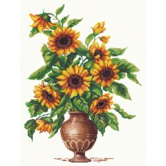 """Набор для вышивки Чудесная игла 40-29 """"Солнечные цветы"""""""
