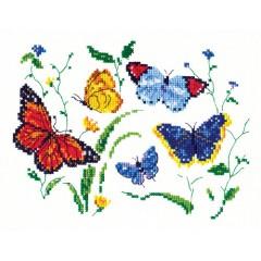"""Набор для вышивки Чудесная игла 42-01 """"Танец бабочек"""""""