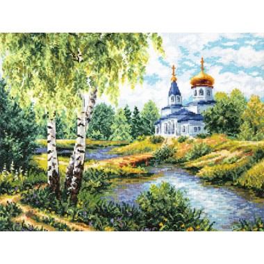 """Набор для вышивки Чудесная игла 43-10 """"Дорога к Храму"""""""