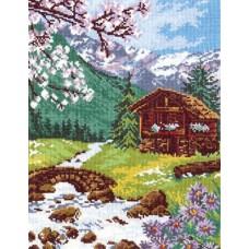 """Набор для вышивки Чудесная игла 44-07 """"Горный пейзаж"""""""