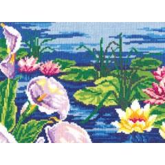 """Набор для вышивки Чудесная игла 44-13 """"Каллы и лилии"""""""