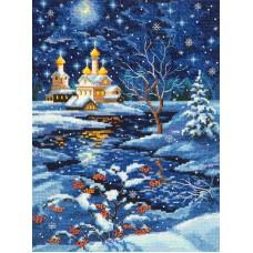 """Набор для вышивки Чудесная игла 45-07 """"Рождество"""""""