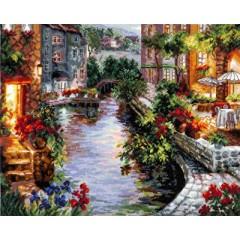"""Набор для вышивки Чудесная игла 46-02 """"Вечер в Венеции"""""""