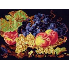 """Набор для вышивки Чудесная игла 50-02 """"Натюрморт с персиками"""""""