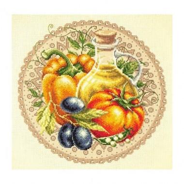 Набор для вышивки крестом Чудесная игла 54-01 Средиземноморский салат