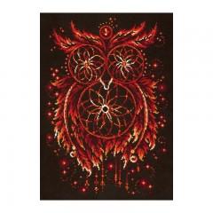 Набор для вышивки крестом Чудесная игла 88-11 Пламя души