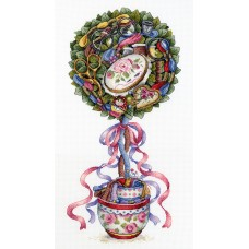 Набор для вышивания М.П.Cтудия НВ-691 Топиарий радости
