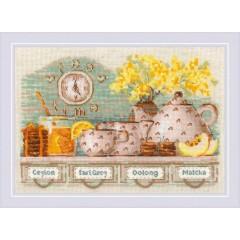 Набор для вышивания крестом Риолис 1873 Tea Time