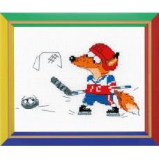 Набор для вышивания крестом Риолис НВ-144 Хоккей