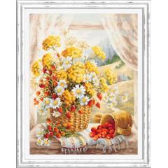 Набор для вышивки крестом Чудесная игла 100-181 Медовый аромат