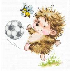 Набор для вышивки крестом Чудесная игла 19-11 Буду футболистом!