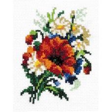 Набор для вышивки крестом Чудесная игла 28-05 Милый букетик