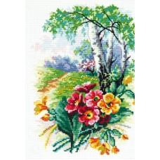 Набор для вышивки крестом Чудесная игла 43-11 Цветущий май