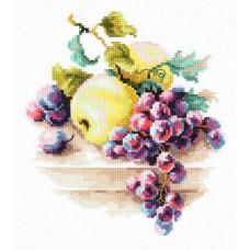 Набор для вышивки крестом Чудесная игла 50-05 Виноград и яблоки