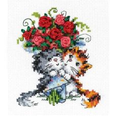 Набор для вышивки крестом Чудесная игла 80-09 Взаимная любовь!