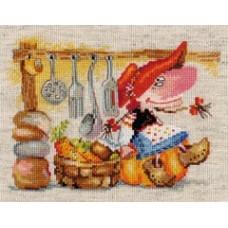 """Набор для вышивки Алиса 0-129 """"Овощная кладовушка"""""""