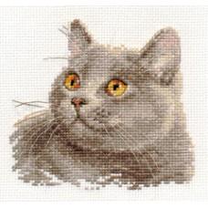 """Набор для вышивки Алиса 0-134 """"Британский кот"""""""