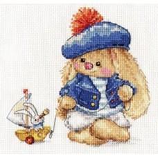 Набор для вышивки Алиса 0-180 Зайка Ми. Моряк