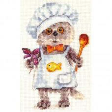 "Набор для вышивки Алиса 0-182 ""Басик шеф повар"""