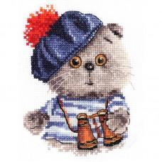 """Набор для вышивки Алиса 0-190 """"Басик моряк"""""""