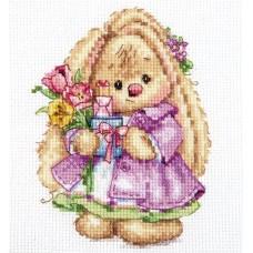 Набор для вышивки Алиса 0-193 Зайка Ми. Весна
