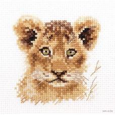 Набор для вышивки Алиса 0-194 Животные в портретах.Львенок