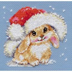 "Набор для вышивки Алиса 0-95 ""Зимний зайчишка"""