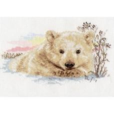 """Набор для вышивки Алиса 1-19 """"Северный медвежонок"""""""