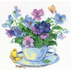 """Набор для вышивки Алиса 2-01 """"Утренние цветы"""""""