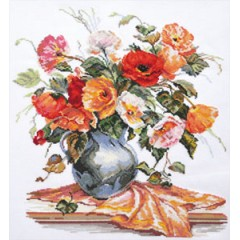 """Набор для вышивки Алиса 2-11 """"Поэзия цветов. Нежные маки"""""""