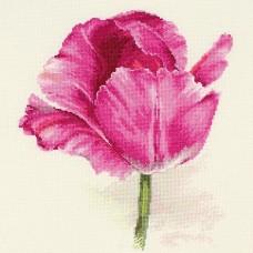 """Набор для вышивки Алиса 2-43 """"Тюльпаны. Малиновое сияние"""""""