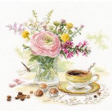 Набор для вышивки Алиса 5-18 Утренний Кофе