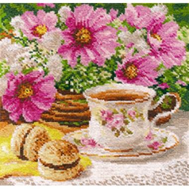 """Набор для вышивки Алиса 5-12 """"Утренний чай"""""""