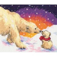 """Набор для вышивки Алиса 0-26 """"Белые медведи"""""""