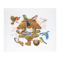 """Набор для вышивки Anchor APC942 """"Кормушка для птиц"""""""