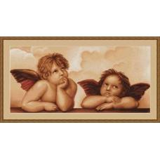 """Набор для вышивания Luca-S B319 """"Ангелочки"""""""