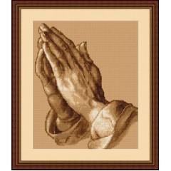"""Набор для вышивания Luca-S B350 """"Молящие руки"""""""