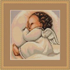 """Набор для вышивания Luca-S B356 """"Спящий ангелочек"""""""