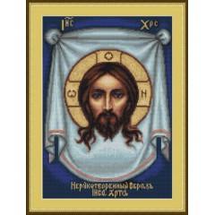 """Набор для вышивания Luca-S B420 """"Нерукотворный образ Иисуса Христа"""""""