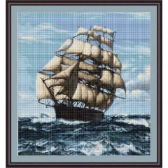 """Набор для вышивания Luca-S B438 """"Корабль"""""""