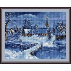 "Набор для вышивания Luca-S B447 ""Зимний пейзаж"""