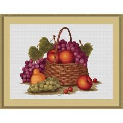 """Набор для вышивания Luca-S B450 """"Натюрморт с яблоками"""""""