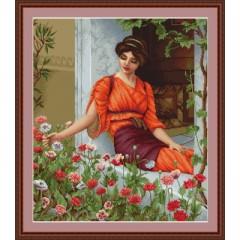 """Набор для вышивания Luca-S B474 """"Летние цветы"""""""