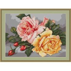 """Набор для вышивания Luca-S B485 """"Розы"""""""