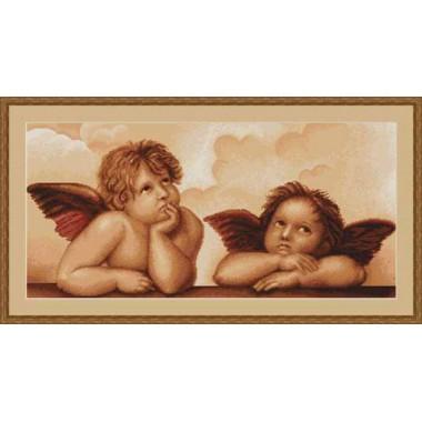 "Набор для вышивки Luca-S G319 ""Ангелочки"""