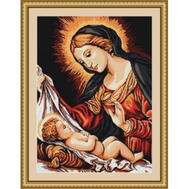 "Набор для вышивки Luca-S G325 ""Святая Дева с младенцем"""