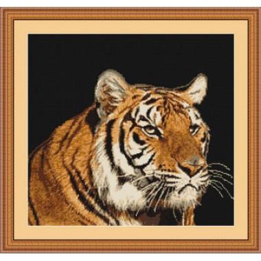 """Набор для вышивки гобелен Luca-S G334 """"Тигр"""""""