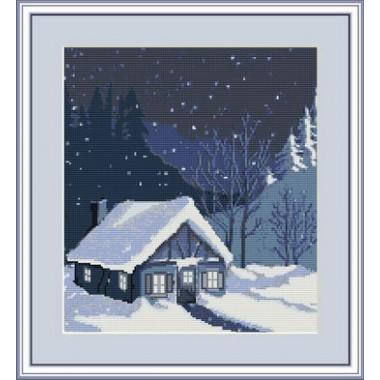 """Набор для вышивки Luca-S G343 """"Дом зимой"""""""